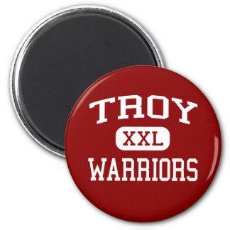 Troy - Warriors - High - Fullerton California Magnet