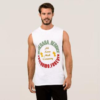 Trriple Counties, Demerara, Berbice, Essequibo Sleeveless Shirt