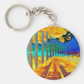 Trstenik by Vincent van Gogh Basic Round Button Keychain