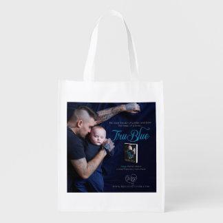 Tru Blue Reusable Grocery Bag