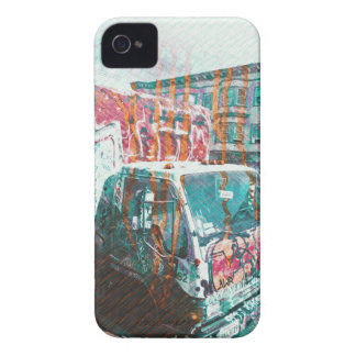 Truck-A-Licious Bang ( graffiti Love ) iPhone 4 Covers