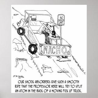 Truck Cartoon 0040 Poster