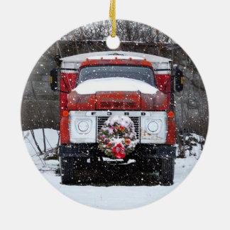 Truck Christmas Wreath ornament