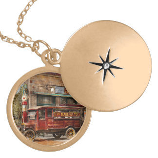 Truck - Delivery - Haas has it 1924 Locket Necklace