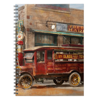 Truck - Delivery - Haas has it 1924 Spiral Note Book