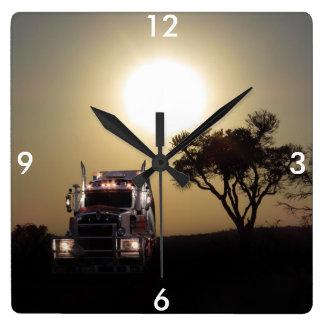 Truck driver clock