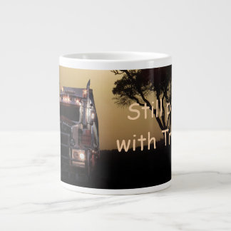 Truck driver giant coffee mug