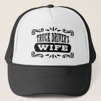 Truck Driver's Wife Trucker Hat