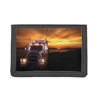 Truck Driver Trifold Wallets