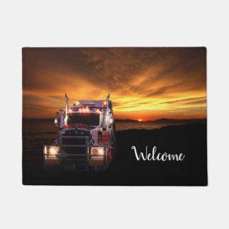 Truck drivers doormat