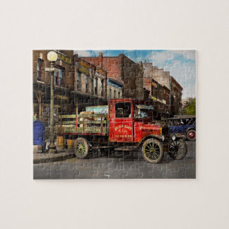 Truck - Home dressed poultry 1926 Jigsaw Puzzle