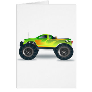 Truck Monster 4x4 ATV Destiny Congratulations Card