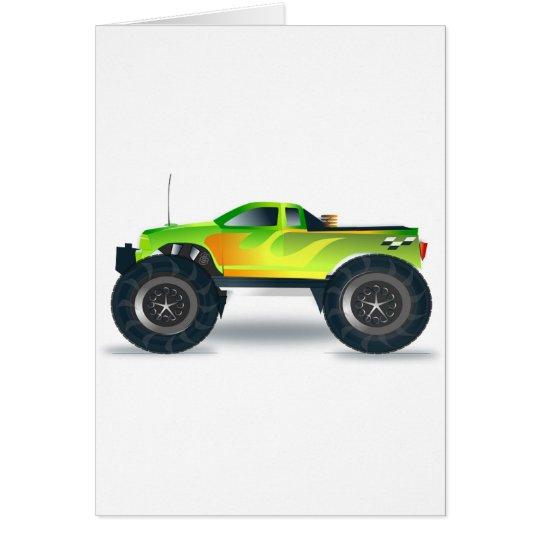 Truck Monster 4x4 ATV Destiny Congratulations Card