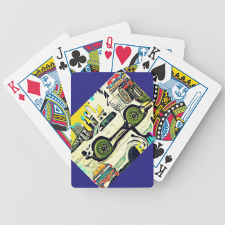TRUCK PARK BICYCLE PLAYING CARDS