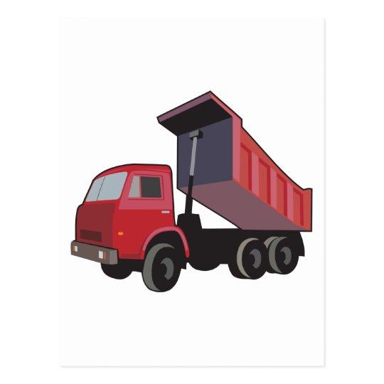 Truck Postcard