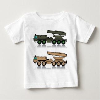 Truck rocket launcher baby T-Shirt