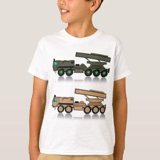 Truck rocket launcher tee shirt