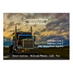 Truck Stop Sky card template