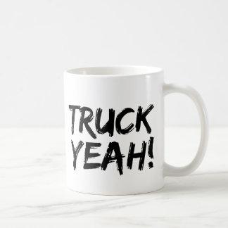 Truck Yeah Classic White Coffee Mug
