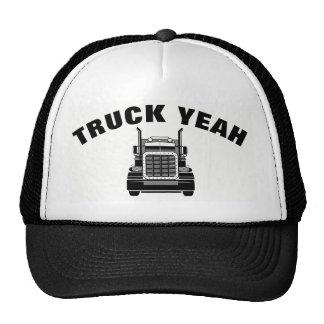 """""""truck yeah"""" trucker's hat"""