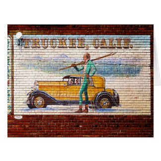 Truckee California Mural 2012 Card