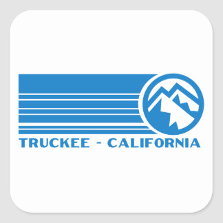 Truckee California Square Sticker