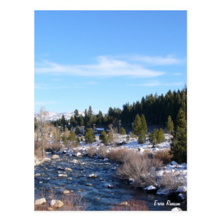 Truckee River Postcard