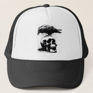 Trucker cap Mercenary Skull Crow