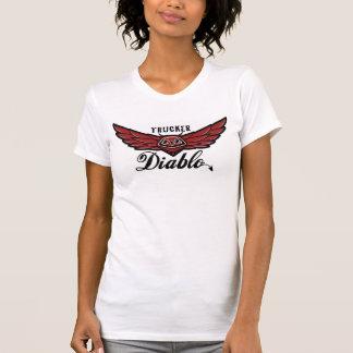 TRUCKER Diablo - Baby Girl Vest T-Shirt