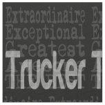 Trucker Extraordinaire Fabric