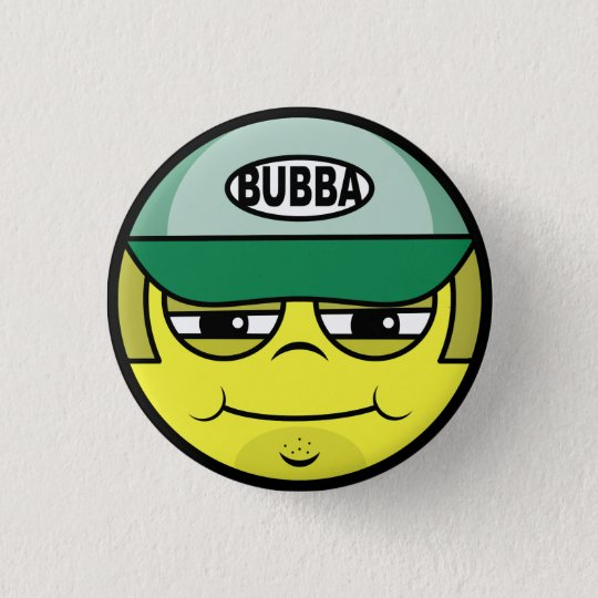 Trucker Face 1 Inch Round Button