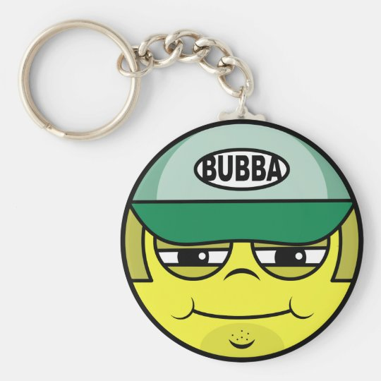 Trucker Face Keychain