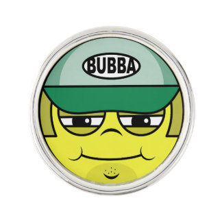 Trucker Face Lapel Pin
