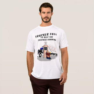 Trucker fuel station T-Shirt