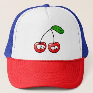 Trucker Hat Cherry Talk Style Kids Adults Funny