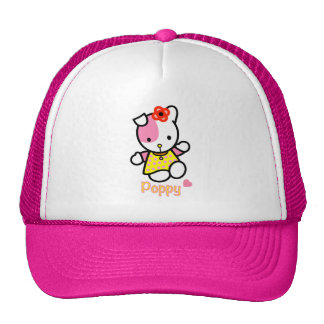 "Trucker hat ""Hello POPPY"""