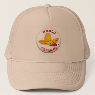 Trucker Hat - love spanish