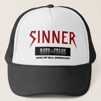 Trucker Hat, SINNER, KING OF ALL BADASSES Trucker Hat