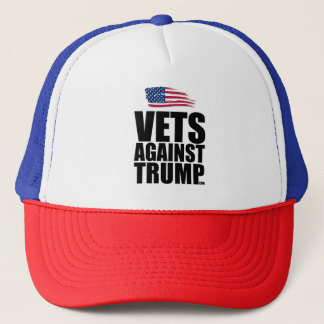 Trucker Hat - Vets Against Trump