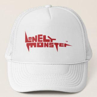 Trucker Hat with Burgundy Logo