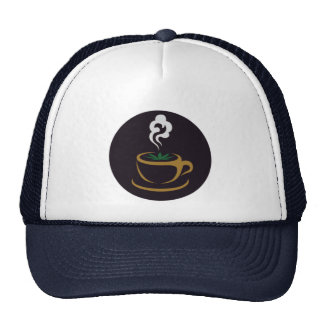 Trucker hat with Chronic Cafe Logo