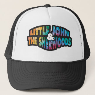 Trucker hat with Tye Dyed Little John Logo