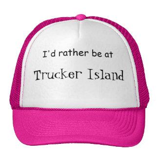Trucker Island Trucker Hat
