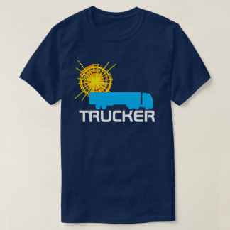 Trucker one-of-a-kind beautiful customizable T-Shirt
