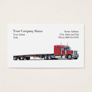 Trucker Trucking Business Card