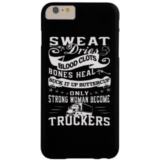Trucker Woman Barely There iPhone 6 Plus Case