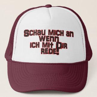 Truckerkappe - exhibition me on… trucker hat