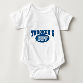 Trucker's Boy Baby Bodysuit