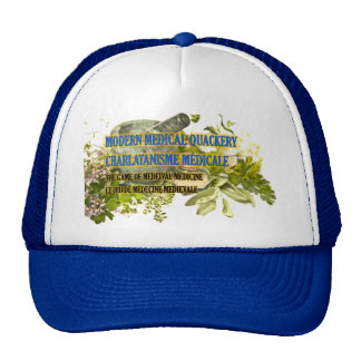 Truckers Cap Modern Medical Quackery Design Trucker Hat