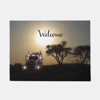 Truckers Doormat